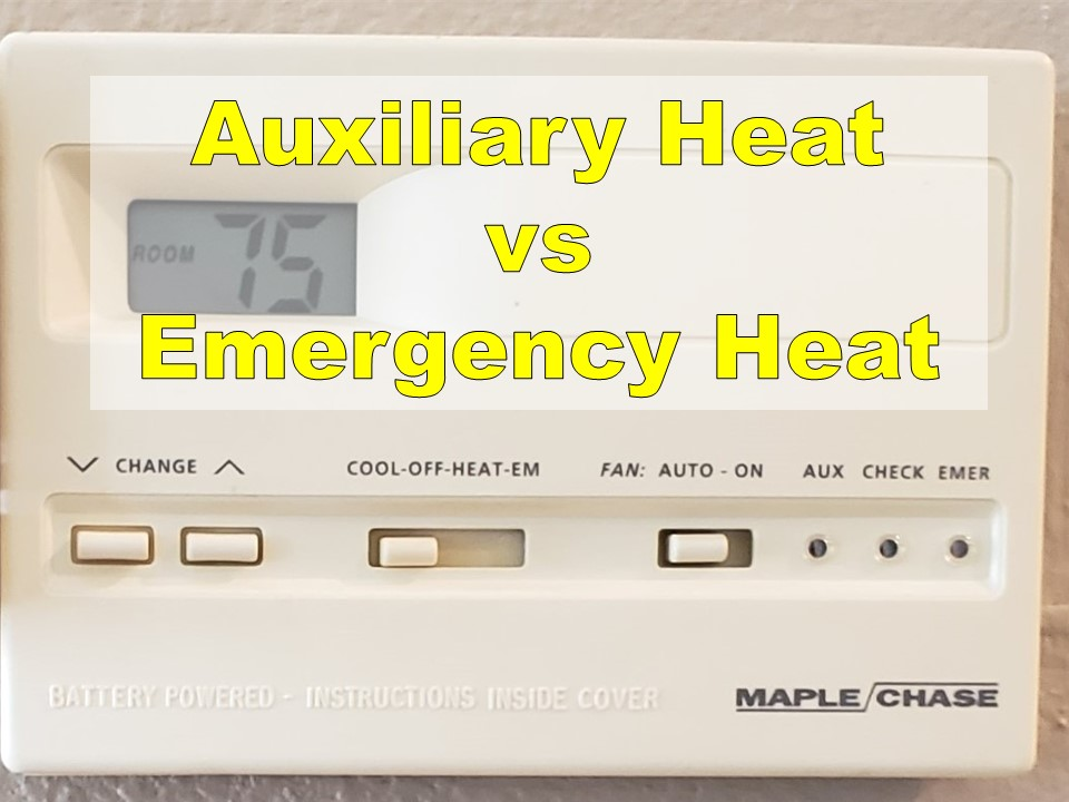 What Is Auxiliary Heat >> Auxiliary Heat Vs Emergency Heat What S The Difference