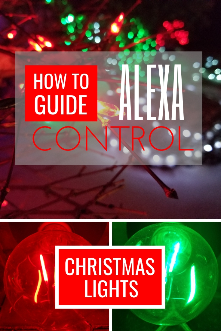 WiFi Controlled Christmas Lights with Alexa or Google Home